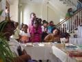 Audience taking in MVO skit presentations